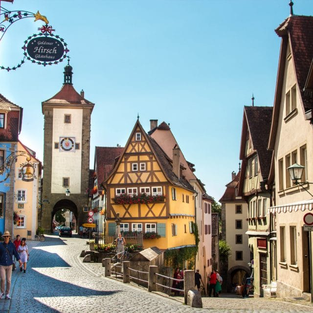 The Romantic Road Germany Travel Guide // Tips, Maps & Itinerary