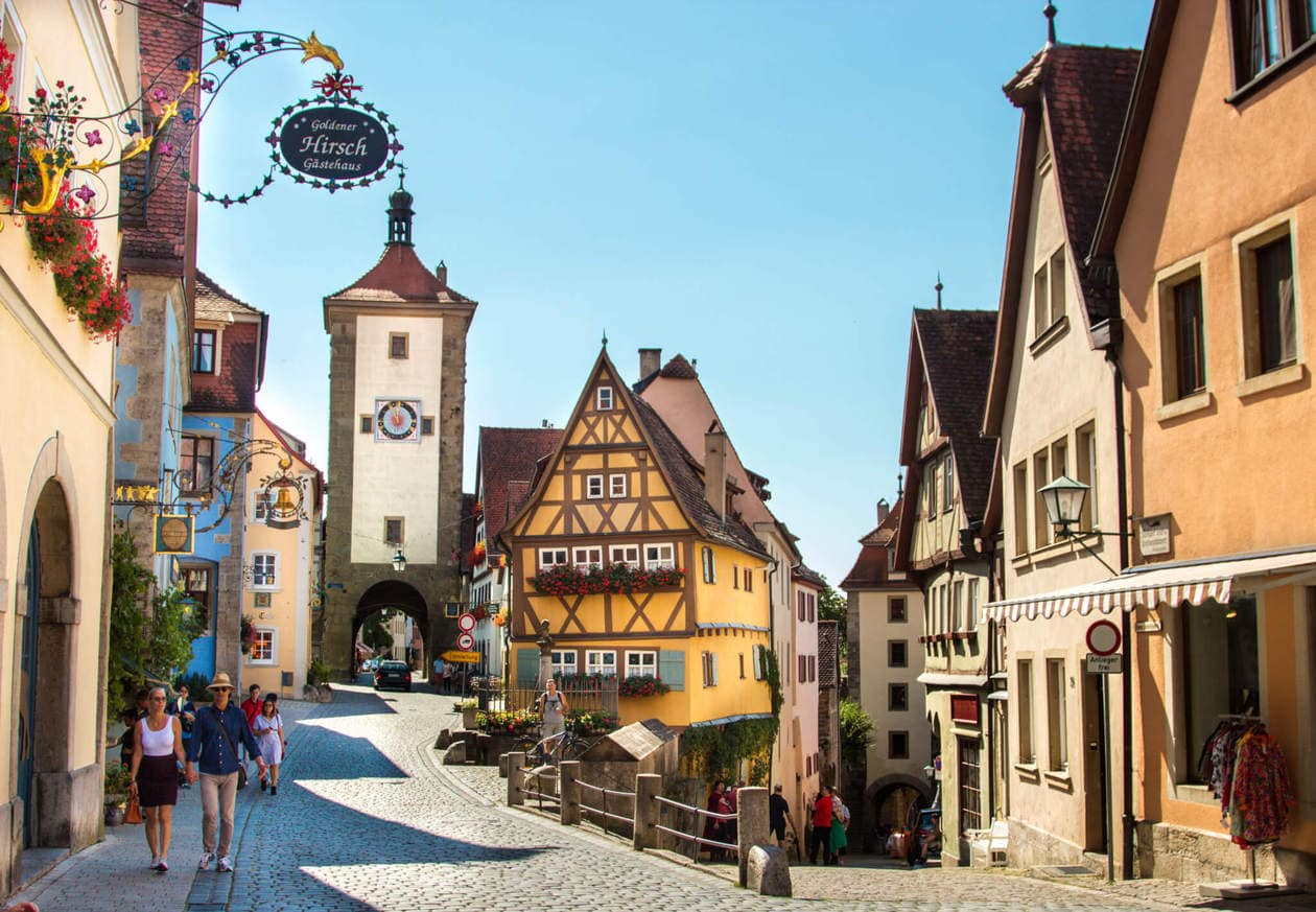 Rothenburg Ob Der Tauber, Germany's Romantic Road