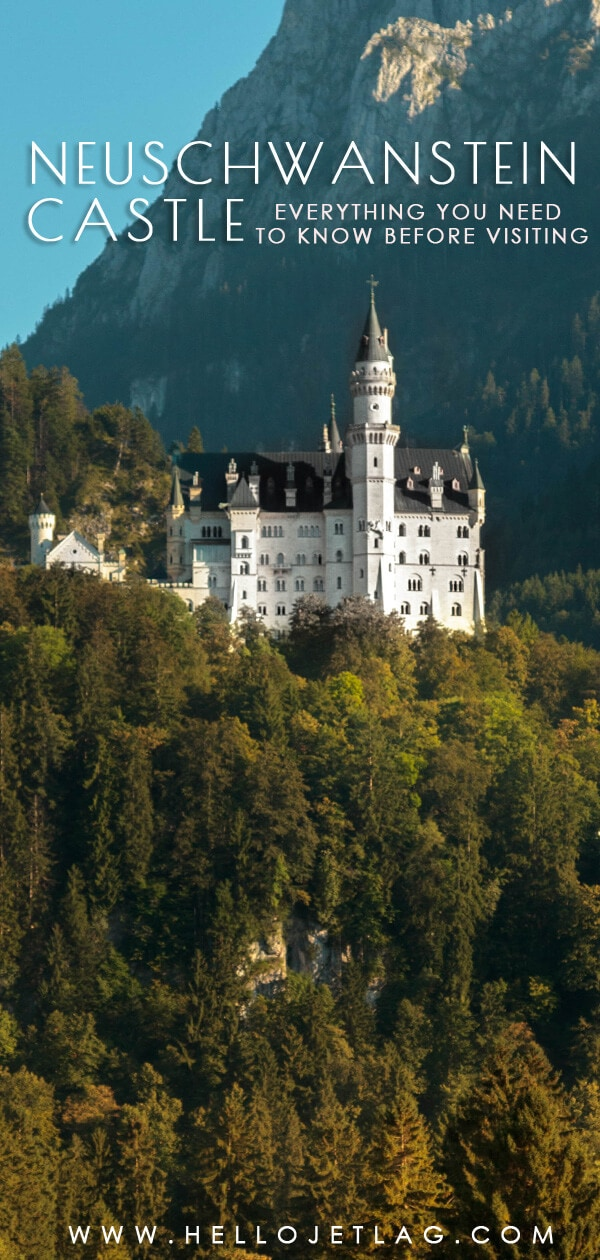 Bavaria's Neuschwanstein Castle is the most popular castle in Germany. Disney even modeled Sleeping Beauty's castle after it. Keep reading to find out everything you need to know for a visit to Neuschwanstein. How to buy tickets, what to expect on the tour, plus tips for visiting and more.