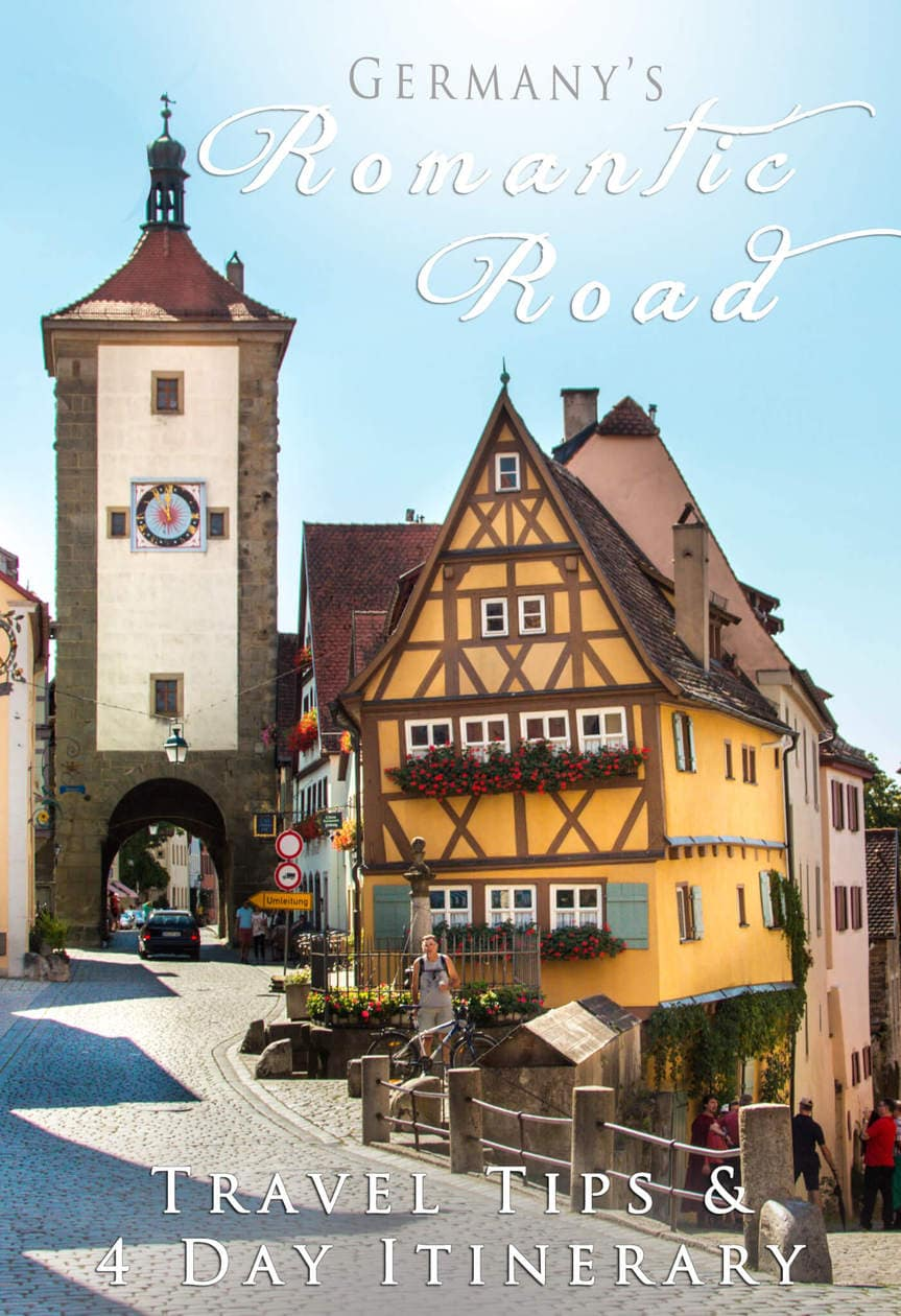 Germany's Romantic Road: Travel Tips & 4 Day Itinerary