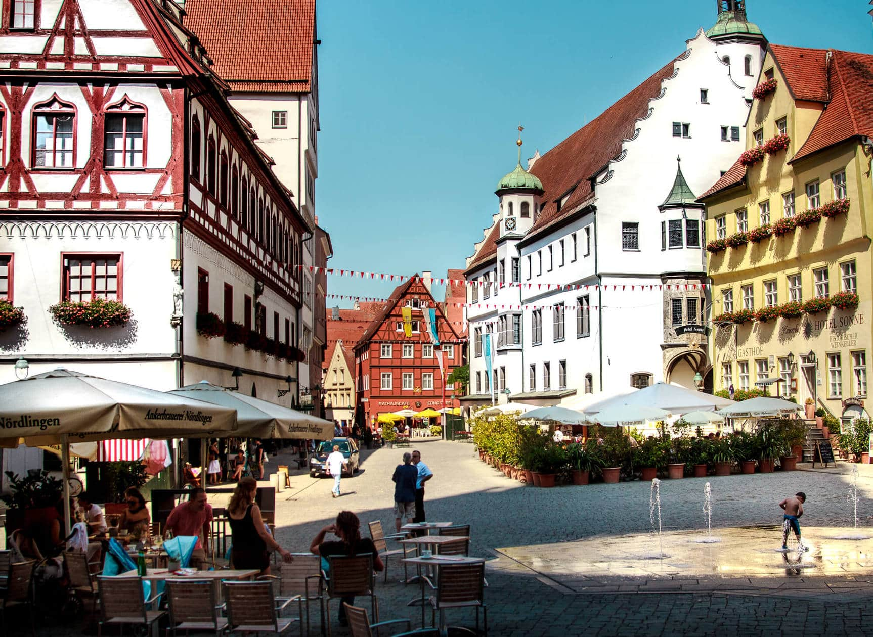 Nordlingen: A Guide to Germany's Romantic Road // Suggested Itinerary, Map and Travel Tips