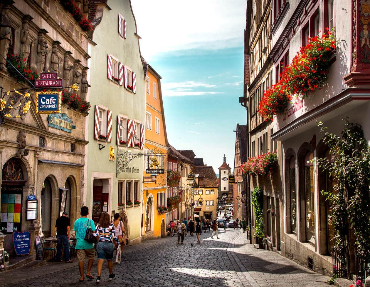 Rothenburg ob der Tauber // A Guide to Germany's Most Photogenic Village