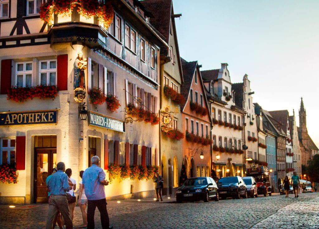 Rothenburg ob der Tauber on Germany's Romantic Road