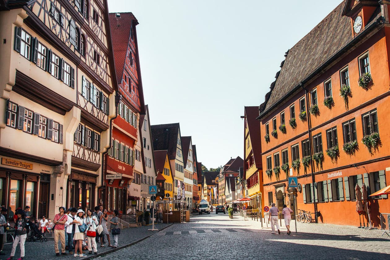 Dinkelsbuhl on Germany's Romantic Road // Travel Tips, Photos + a 4 Day Suggested Itinerary