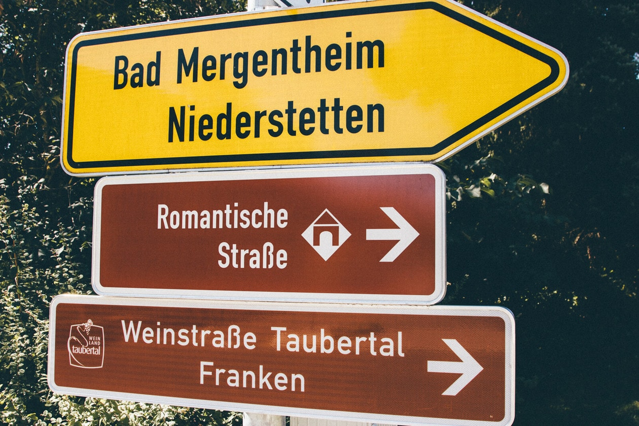 Traveling the Romantic Road in Germany