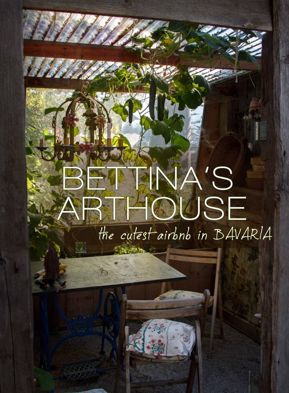 Bettina's Arthouse: The Cutest Airbnb in Bavaria