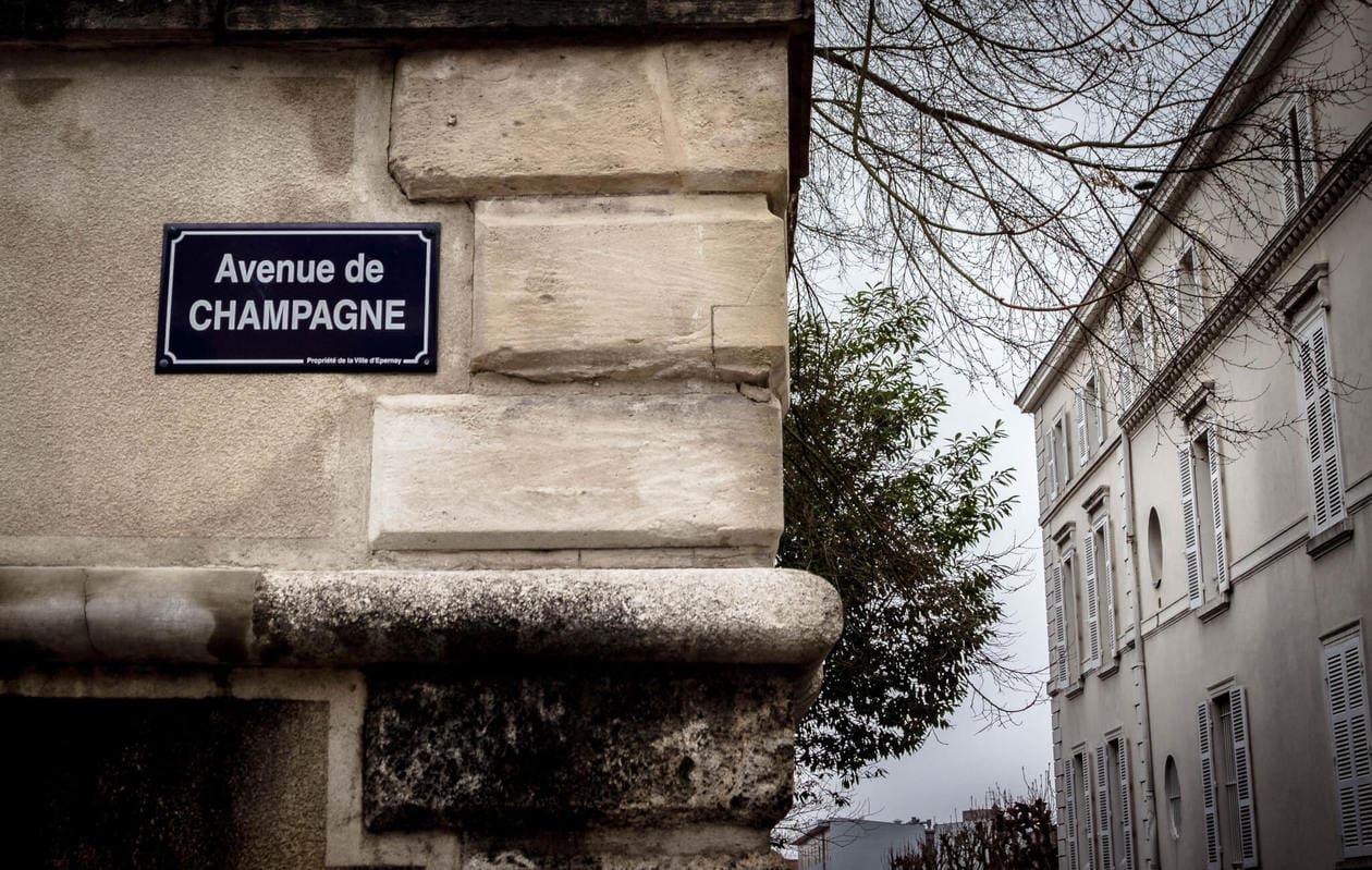 Avenue de Champagne, France