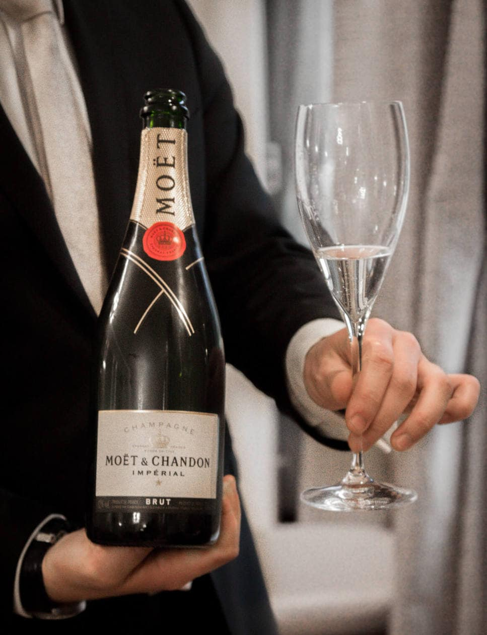 Moet and Chandon Champagne Tasting in France