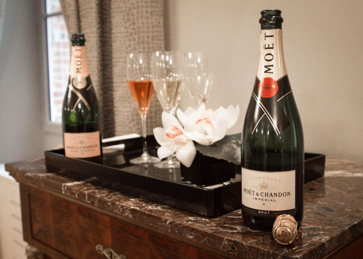 Moet and Chandon Champagne Tasting