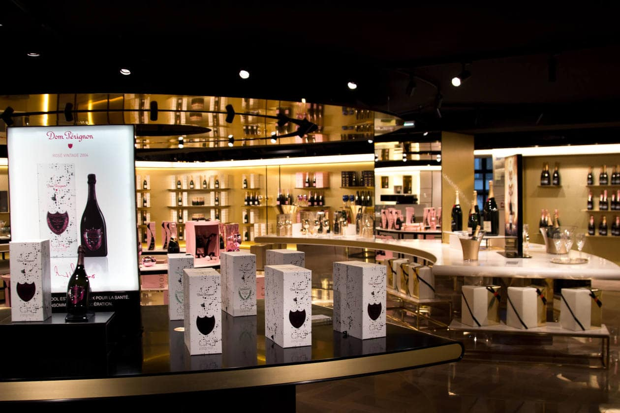 Moet and Chandon Gift Shop