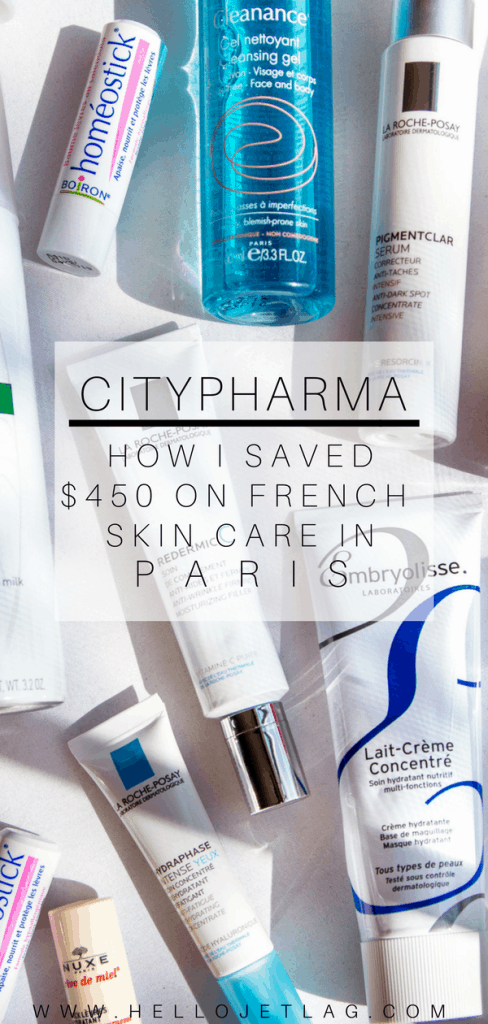 A massive skin care haul from the best French pharmacy in Paris