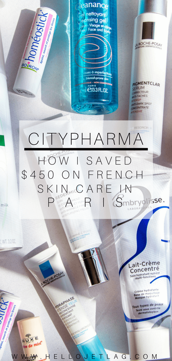 An overview of my recent haul from my favorite pharmacy in Paris, CityPharma. Read the price comparisons between top French skin care brands such as Caudalie, La Roche Posay, Bioderma and more, and discover how I saved $450 by buying shopping in Paris.