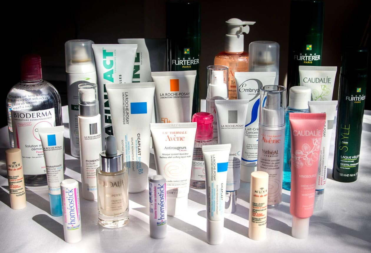 A massive skin care haul from the best French pharmacy in Paris, CityPharma.