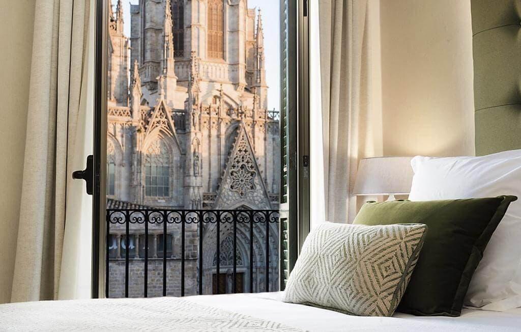 Colon Hotel in Barcelona's Gothic Quarter
