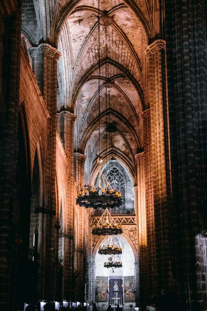 The Barcelona Cathedral (La Seu)