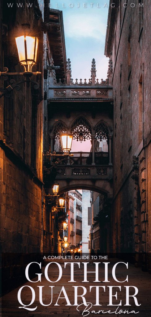 A neighborhood guide to the Gothic Quarter of Barcelona (aka Barri Gotic). Things to do, restaurants, bars, hotels, tips for visiting & more.