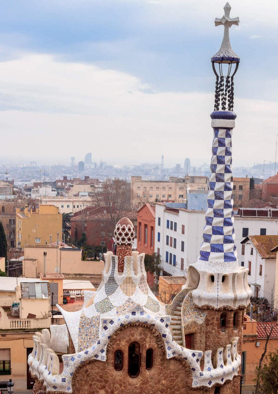 Park Guell by Gaudi, Barcelona