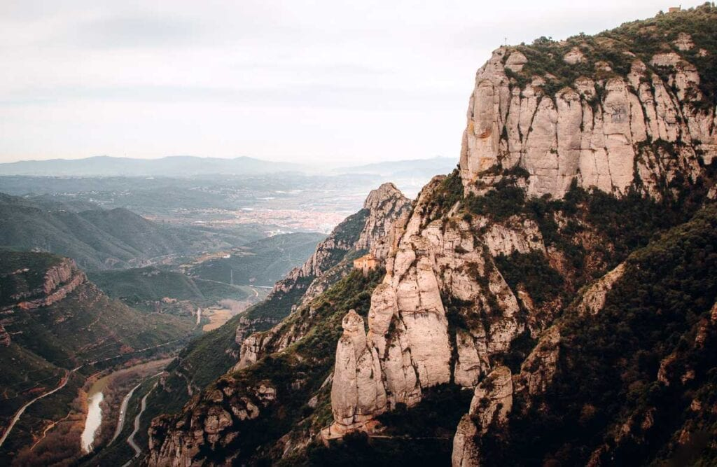 Montserrat Monastery in Spain