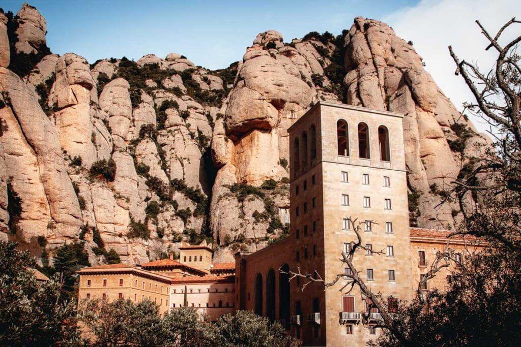 Barcelona to Montserrat, Spain