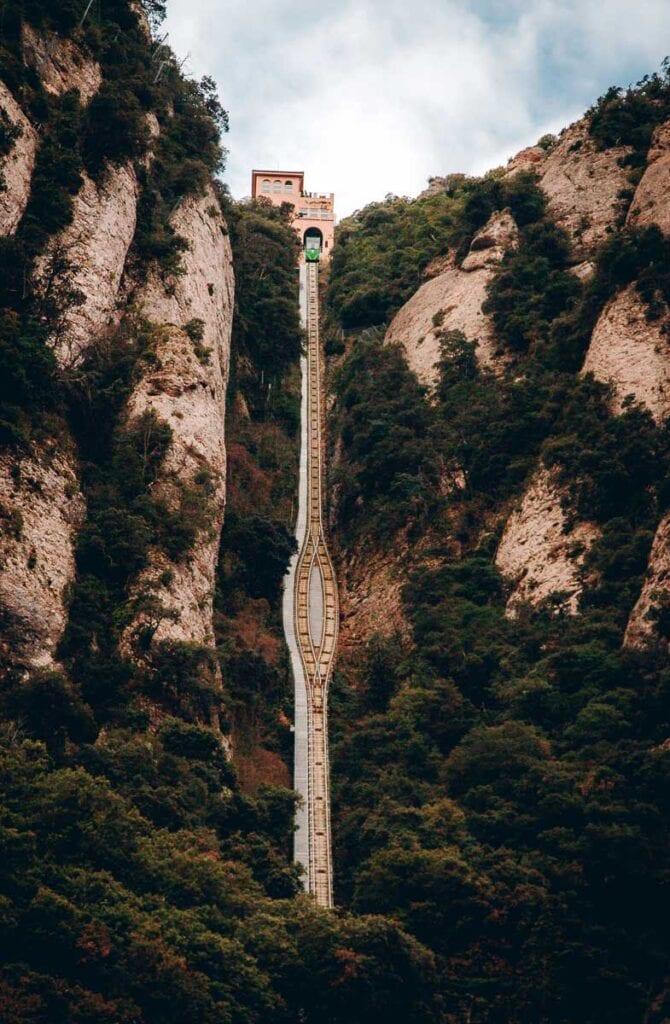 Montserrat Santa Cova and Sant Joan Funicular