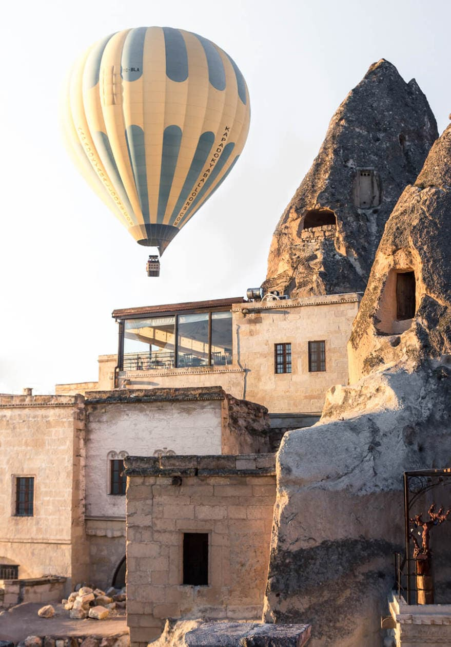 Cave Hotels in Goreme