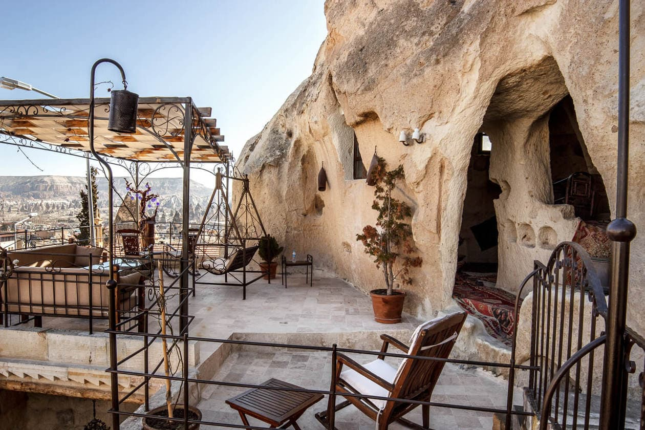 Sleeping In A Cappadocia Cave Hotel Mithra Cave Hotel