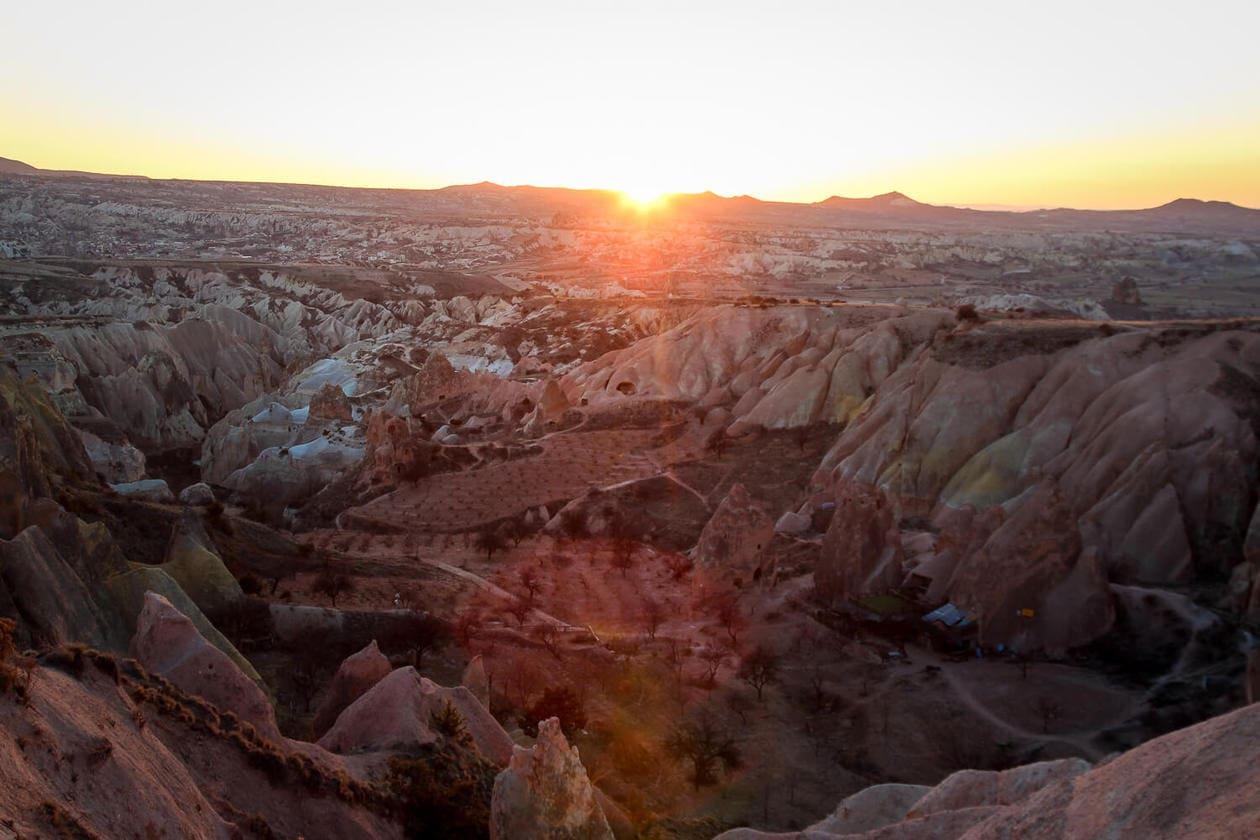 Red Valley , Rose Valley Cappadocia