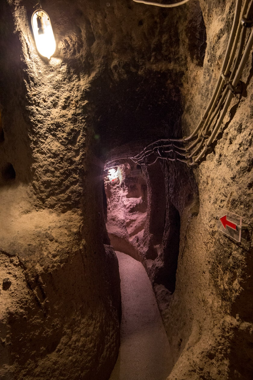 Kaymakli Underground City Tunnels