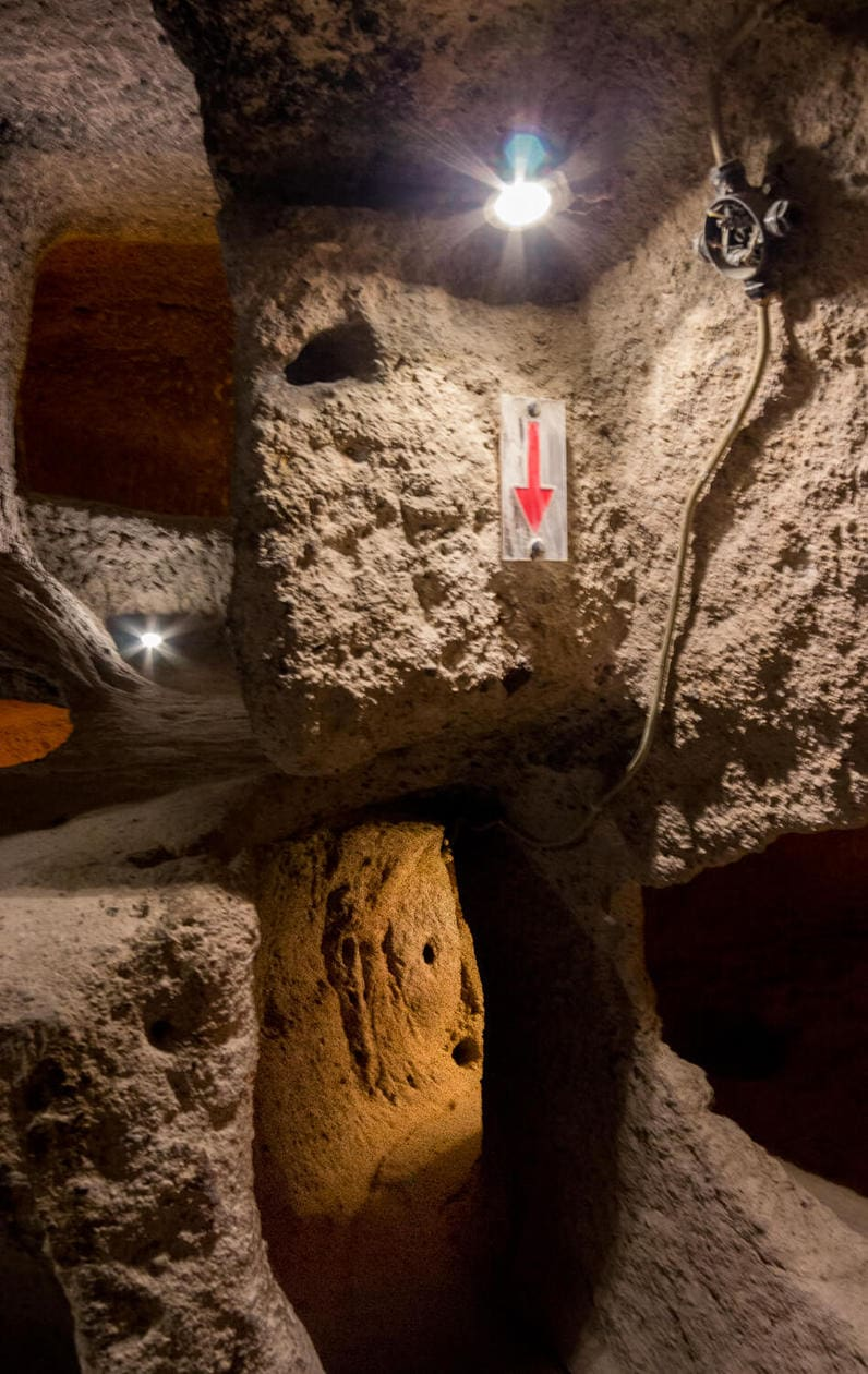 Kaymakli Underground City, Cappadocia