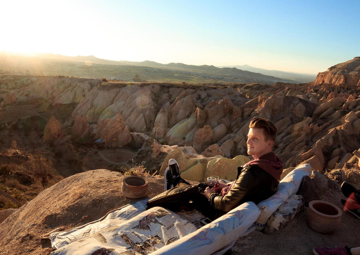 Sunset Spot in Cappadocia
