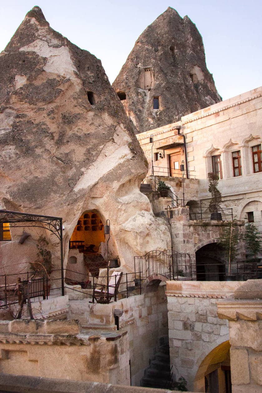 Sleeping In A Cappadocia Cave Hotel      Mithra Cave Hotel