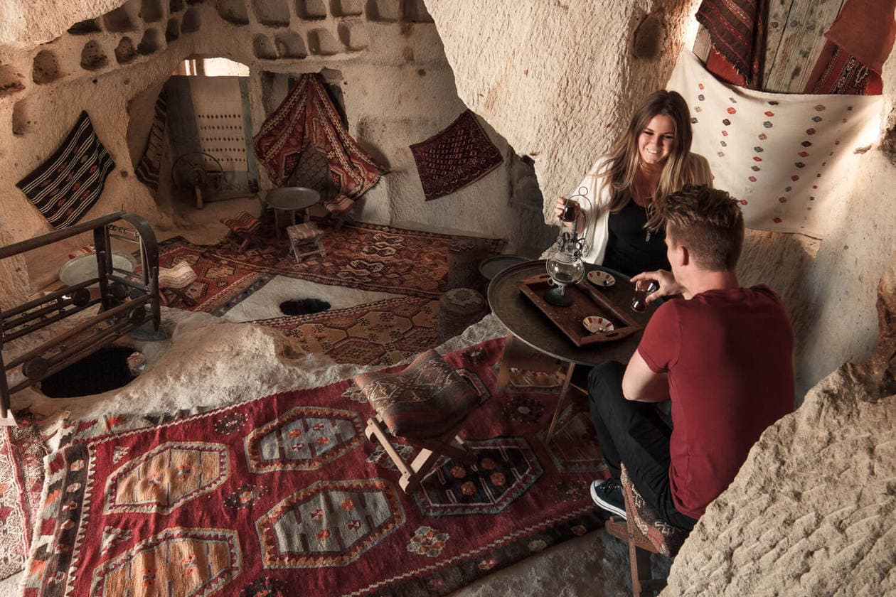 Stay in a Cave Hotel | Cappadocia, Turkey