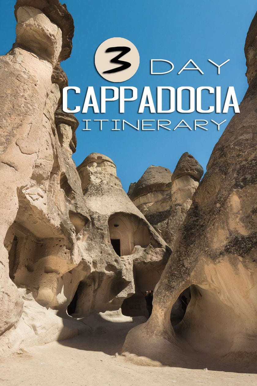 What to Do in Cappadocia // A 3 Day Intinerary