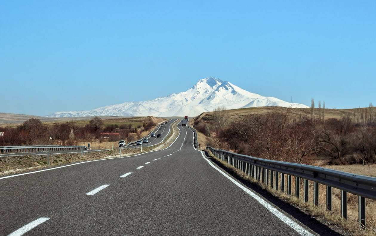 Mt. Erciyes, Turkey