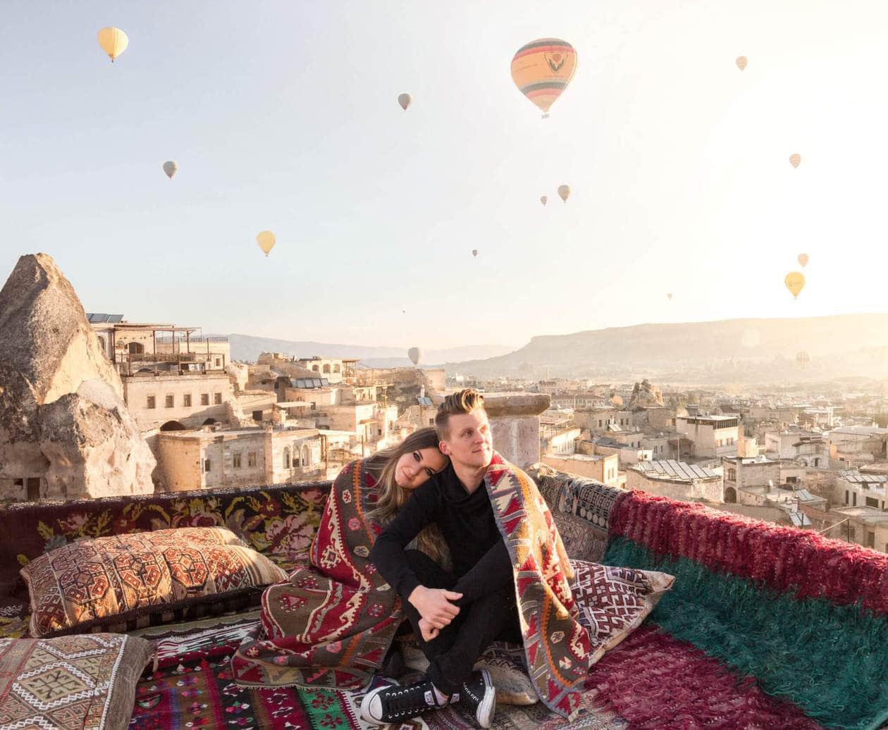 Cappadocia Hot Air Balloons at Sunrise