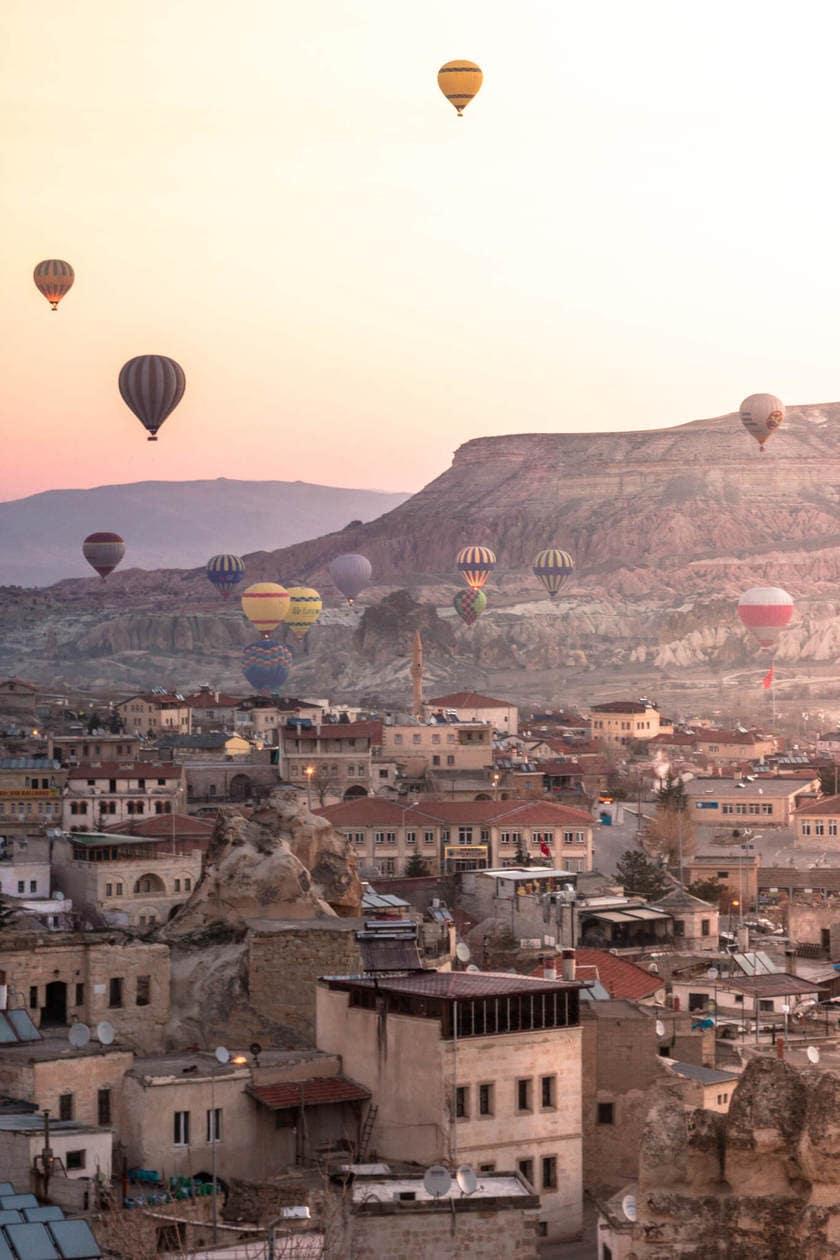 Cappadcocia Hot Air Balloons