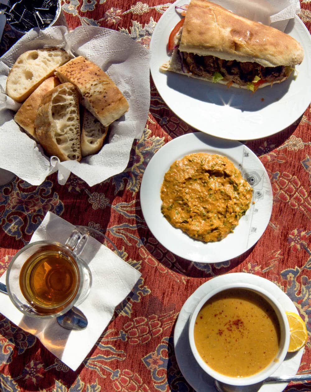 Cafe Safak // Where to eat in Goreme, Turkey // A list of 7 Cappadocia restaurants to check out, including where to find the most authentic pottery kebab, the prettiest patio to sip Turkish Tea, and where to get the best food.