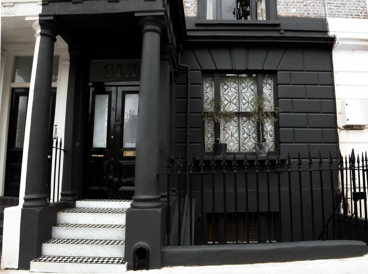 Matte Black House, Notting Hill