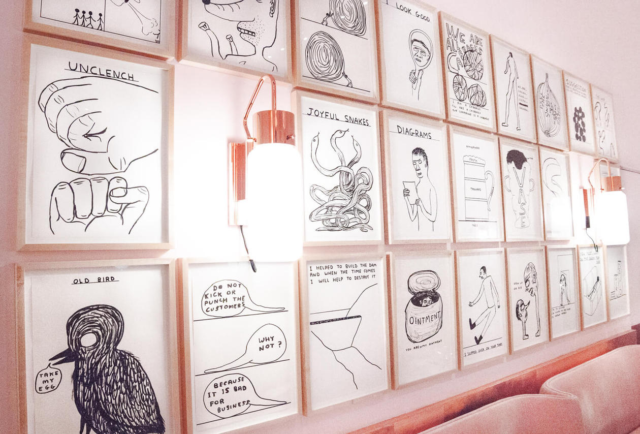 David Shrigley Sketch Restaurant