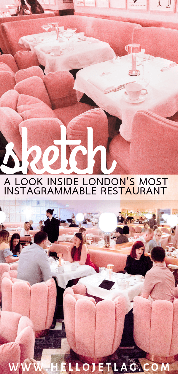 Sketch Afternoon Tea in the famous pink restaurant. Keep reading for photos and what to expect when visiting London's most instagrammable tea room.