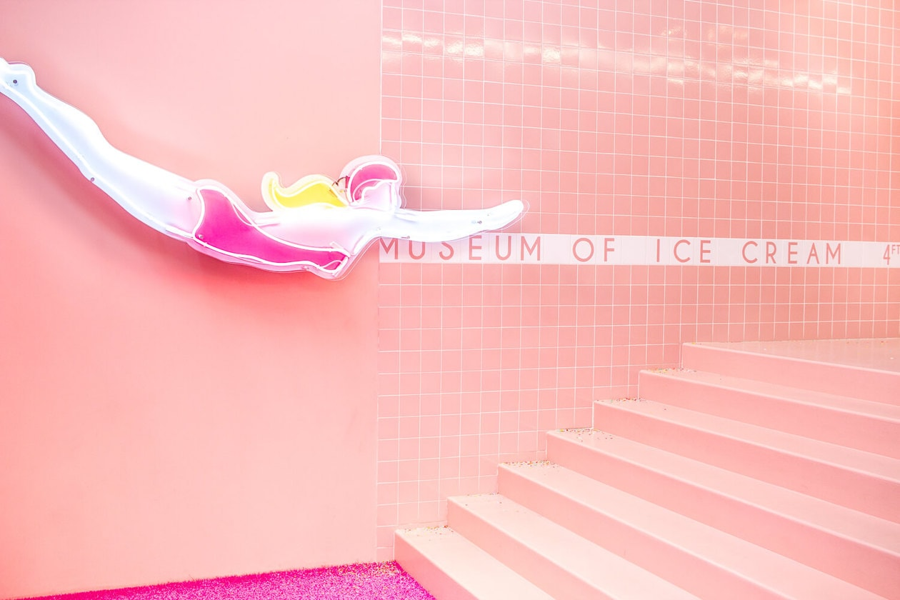 A colorful photo walkthrough from the most photogenic art exhibit in the United States, the Museum of Ice Cream! Swim in the infamous sprinkle pool, sample ice cream and level up your Instagram feed with this fun, traveling pop-up. Locations in Los Angeles, Miami, New York and San Francisco.