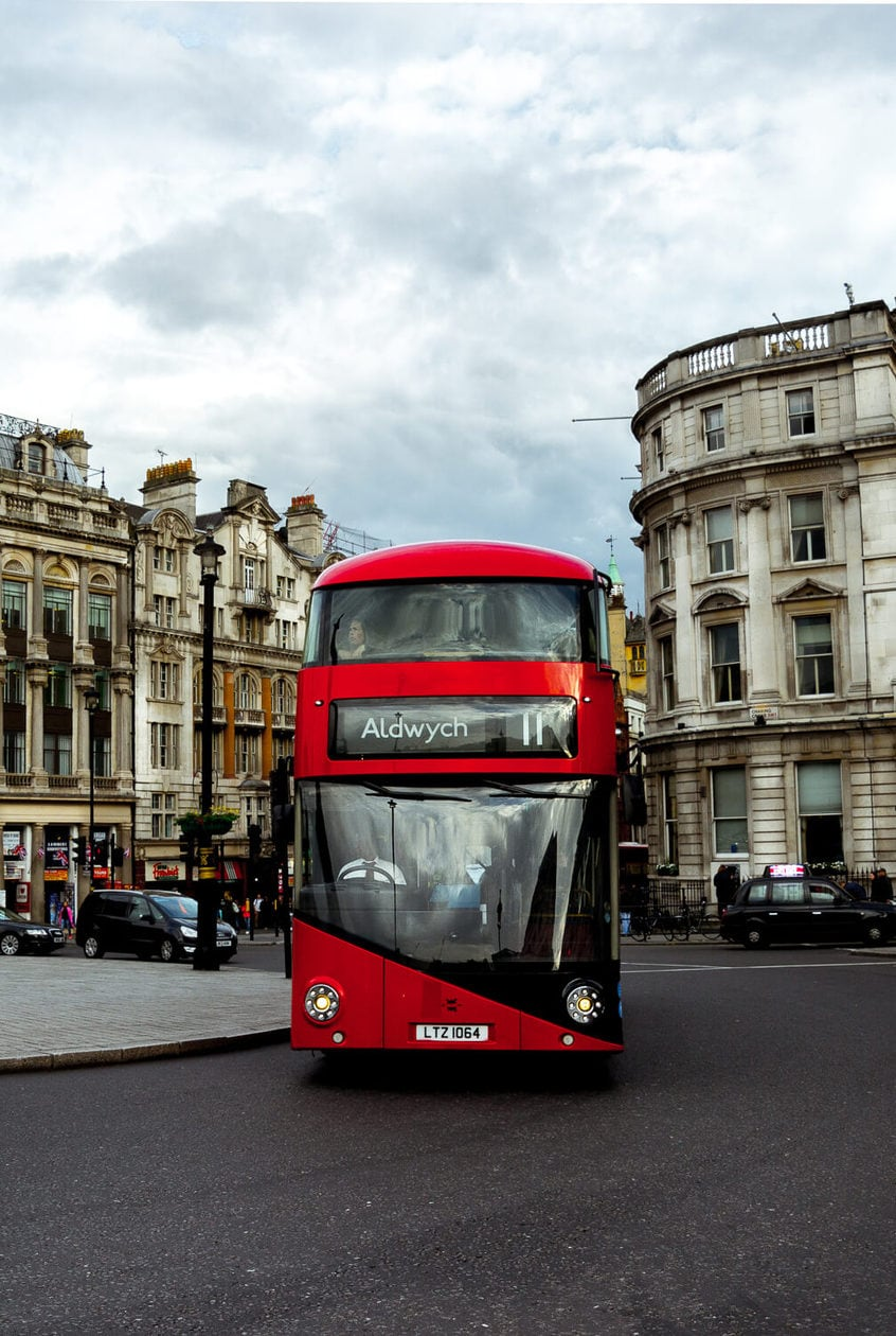Double Decker Bus, London