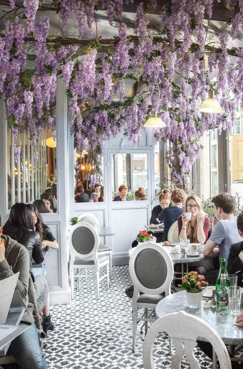 Pretty Restaurants in London