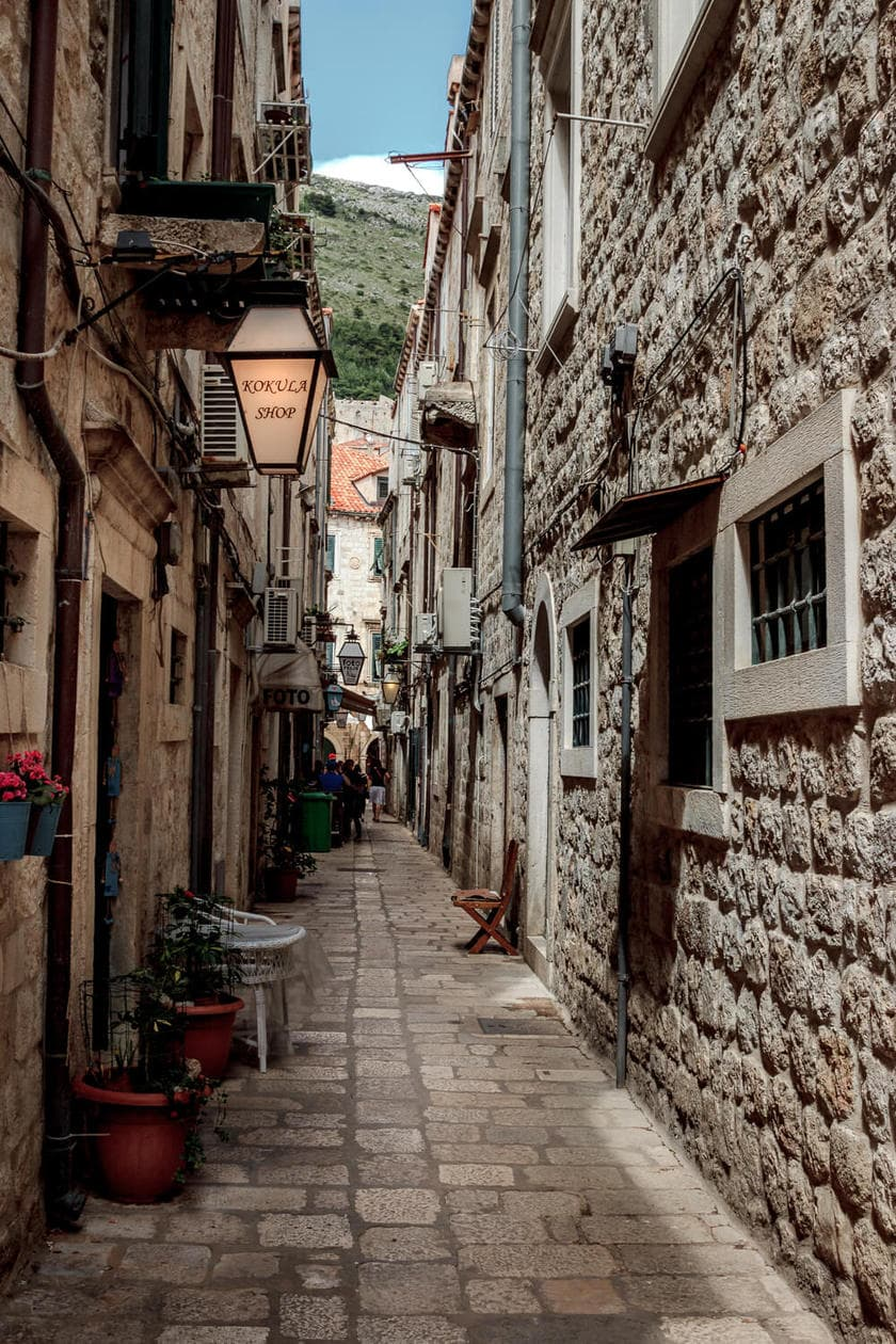 Off the beaten path in Dubrovnik