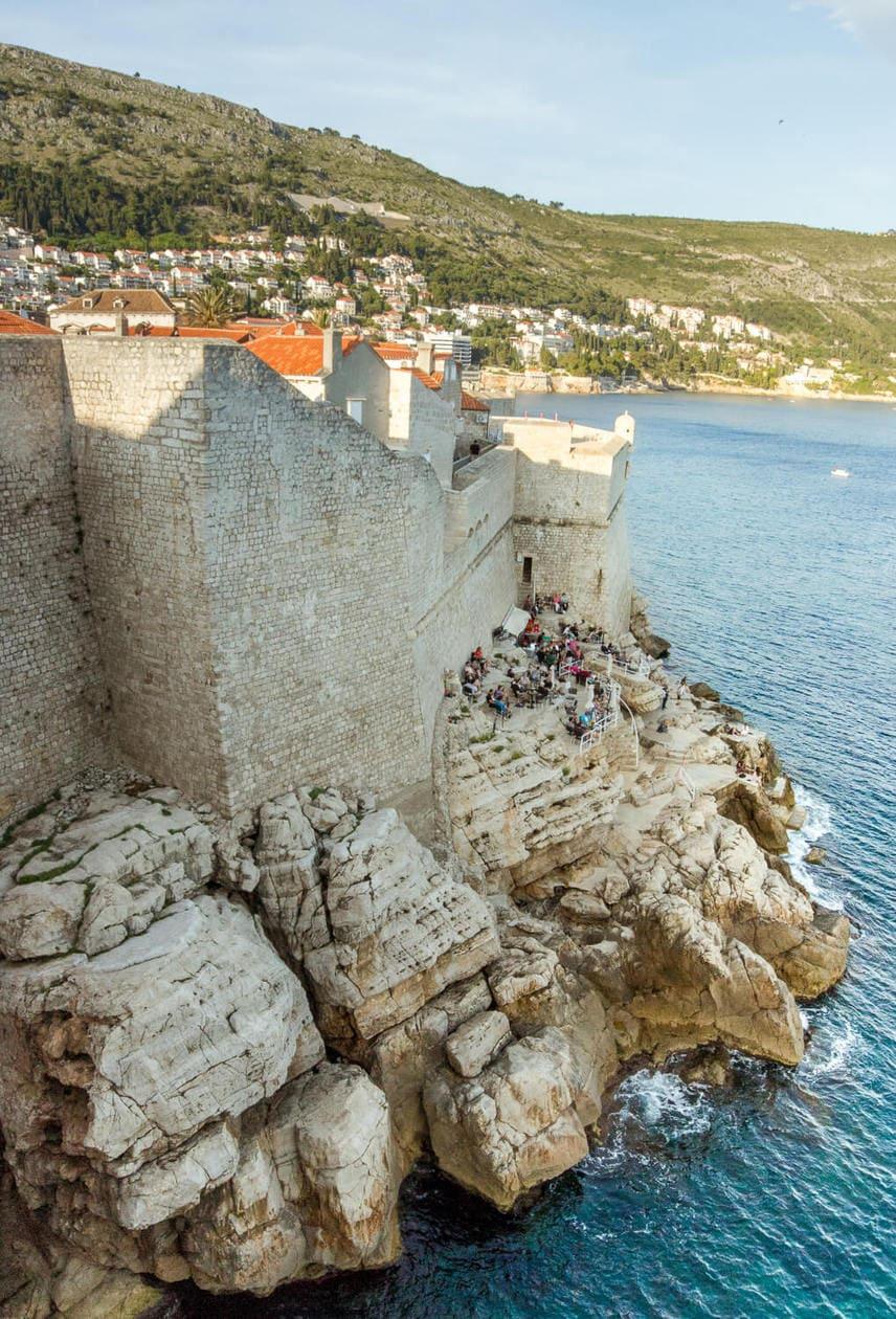 Buza Bar, Dubrovnik Croatia