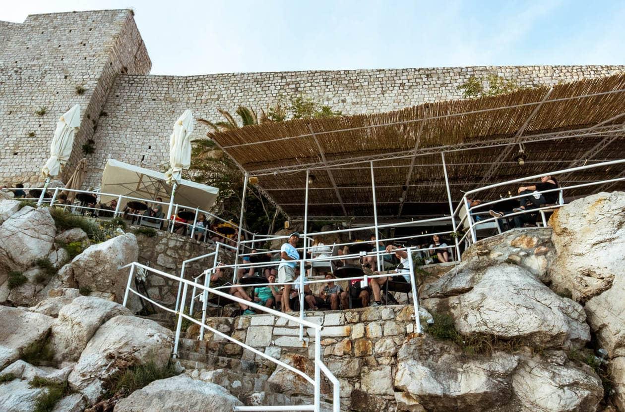 Dubrovnik's Buza Bar