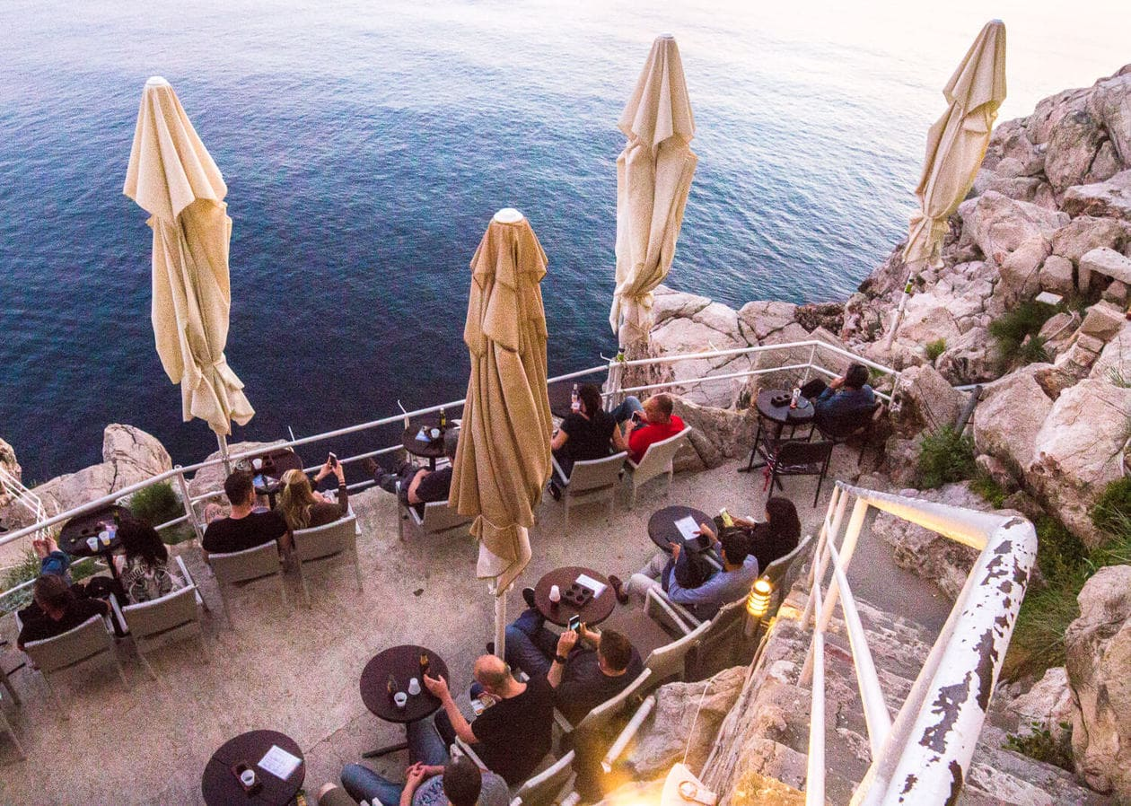 Hole in the Wall Bar Dubrovnik