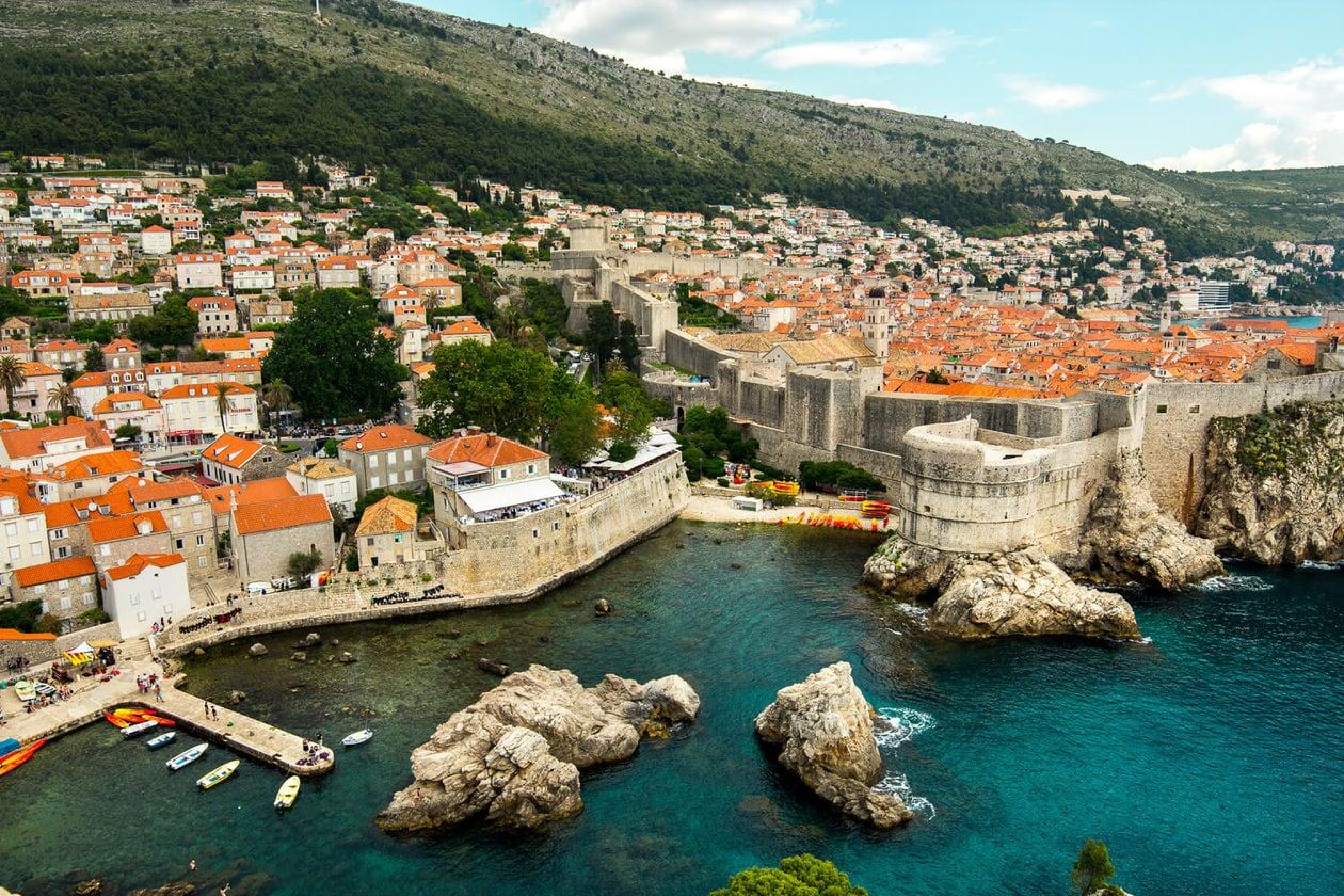 View from Fort Lovrijenac, Dubrovnik
