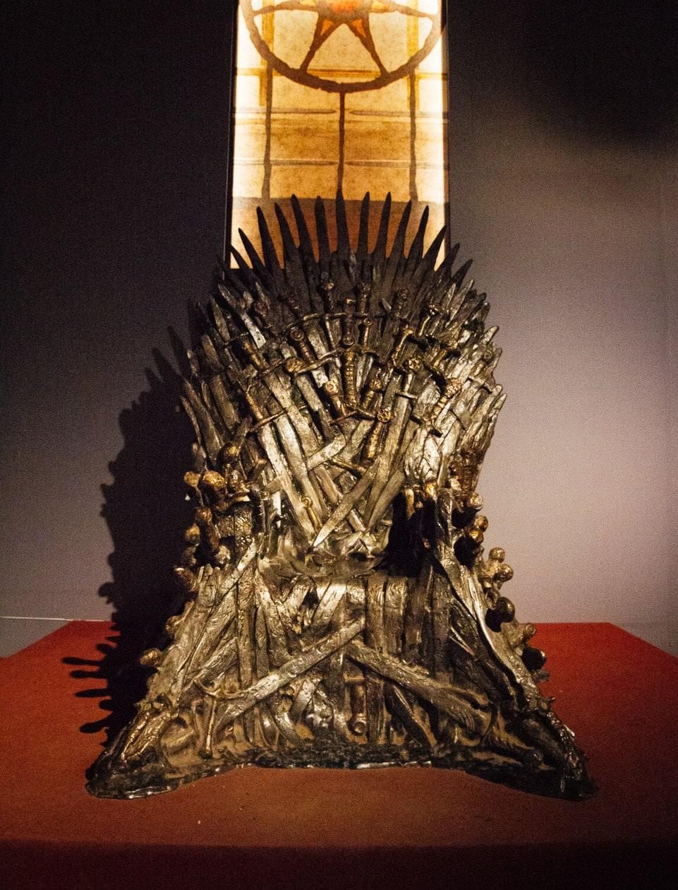 Game of Thrones Iron Throne in Dubrovnik