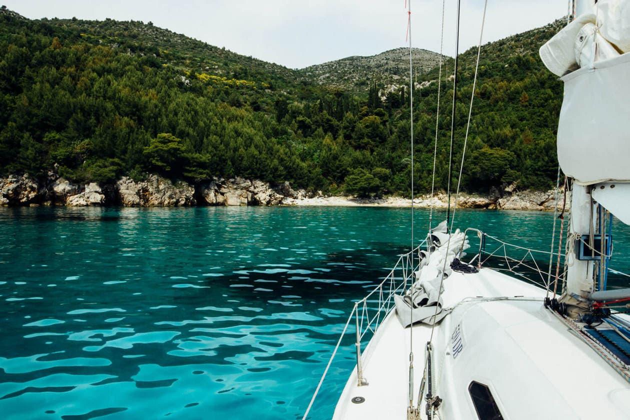 Sailing in Dubrovnik